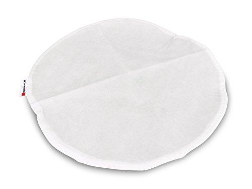 kissenwelt.de Sitzsack Innensack aus Vlies(PP), RUND Ø 110 cm, weiß