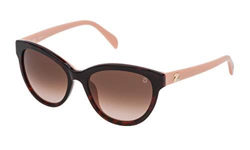 Tous STO955-5401GQ Gafas, Marrón/Rosa, 54/18/140 para Mujer