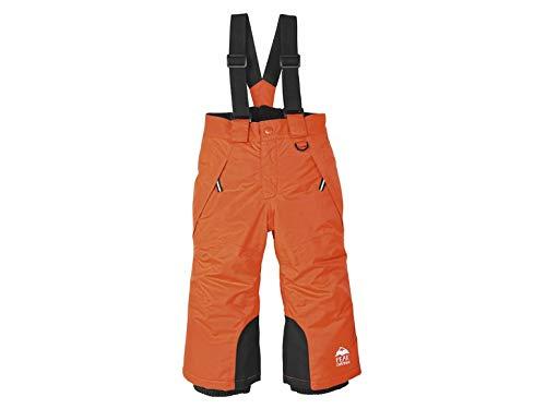 lupilu sneeuwbroek kinderen snowboardbroek skibroek winterbroek sport vrije tijd broek (86/92, oranje)