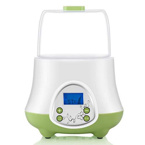Babyflessenwarmer constante temperatuur Fles sterilisator met LED-display, snelle opwarming van Babyvoeding en Milk for All Babyflessen
