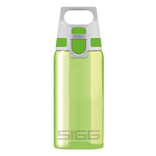 Sigg Uni VIVA ONE Green, Sport, 0.5 L, Polypropylen, BPA Frei, Grün Trinkflasche