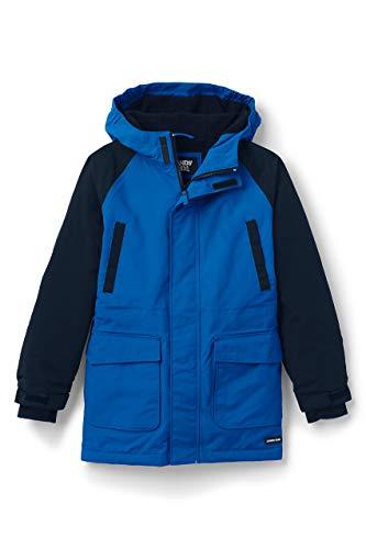 Lands' End Boys Husky Squall Waterproof Winter Parka X-Large Beacon Blue