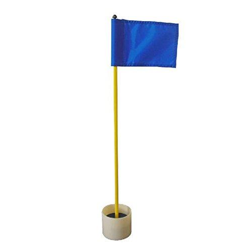 Crestgolf Golf Practice Golf Green Flagstick Golf Hole Pole Cup 1 Set...