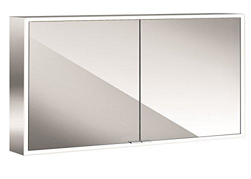 EMCO ASIS LED-Spiegelschrank PRIME, AP 1000 mm, 2-türig, Rückwand weiß, HSN 949705163