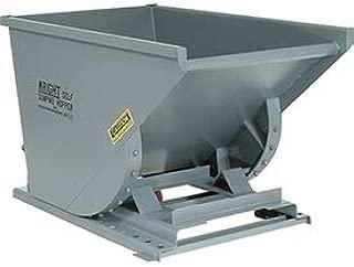 Wright 2 Cu Yd Gray Medium Duty Self Dumping Forklift Hopper, 20055GY