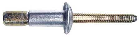 0.250 Inch Huck Magna-Lok MGLT-R8-6 Interlock Blind Rivet; 1//4 Inch Truss HD Steel//Steel, , 0.080-0.375 Inch GR