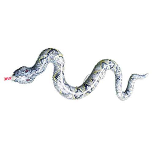 1PC Mini Snake Modell Realistische Simulation Scary Prank Creepy Snake Toy Snake Modell for April Fools Day Kostüm-Partei-Halloween zcaqtajro