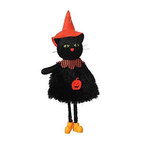 SLJXY Decorazione per Halloween, fantasma, zucca senza viso, con ciondolo a forma di sacco a vento, decorazione per la casa spucchina, decorazione per Halloween, notte di orrore