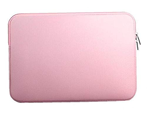 Pink Laptop Sleeve Case Carry Bag Fits for 13inch MacBook Air Pro Laptop Accessories Pink