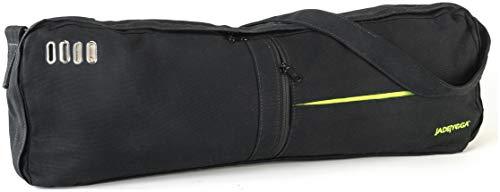 Jade Yoga macaranga Mat Bag, schwarz