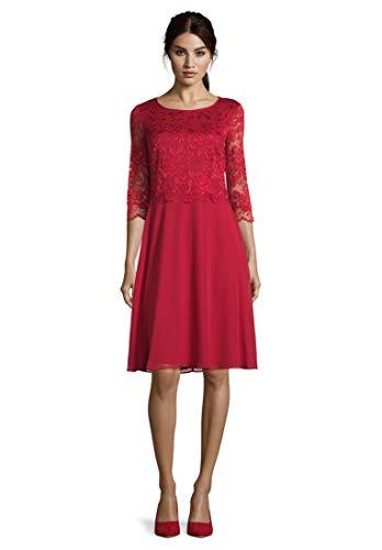 Vera Mont Damen 0057/4825 Kleid, Rot (Diva Red 4296), (Herstellergröße: 40)