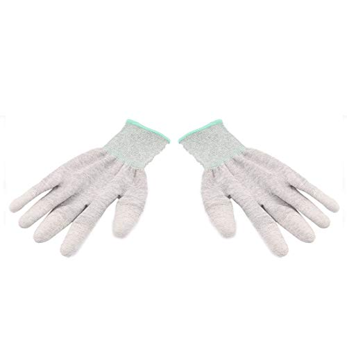 Aexit 1 13 Nylon Arbeitsschutz Antistatische Anti-Rutsch-Handschuhe Grau Grün (c26e6f4db2da9f34757665c1701dfb2f)