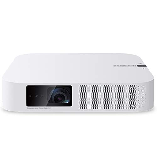 SYHSZY Projectors Projector Mini Projectors Home Theater Mobile Outdoors 3D Projector WiFi Multimedia Home Theater Movie Projector,Support 1080P Full HD, Compatible With VGA, USB, Smart Phones