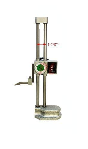 Precision Double Beam 12'' Dial Height Gage Carbide001'' Digital Height Gauge