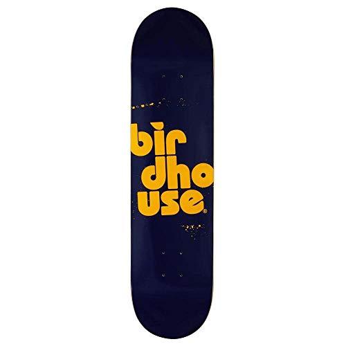 BIRDHOUSE Skateboards Skateboard-Brett / Deck, stapelbar, 19,7 cm, Marineblau