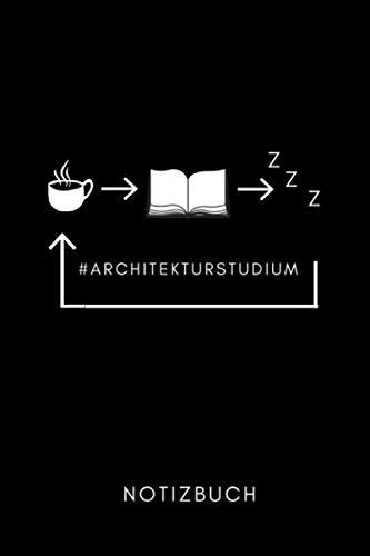 #ARCHITEKTURSTUDIUM NOTIZBUCH: A5 Wochenplaner 120 Seiten | Architekt Geschenkidee | Geschenke für Studenten | Bauzeichner | Architektur Studium | Examen | Bachelor | Master