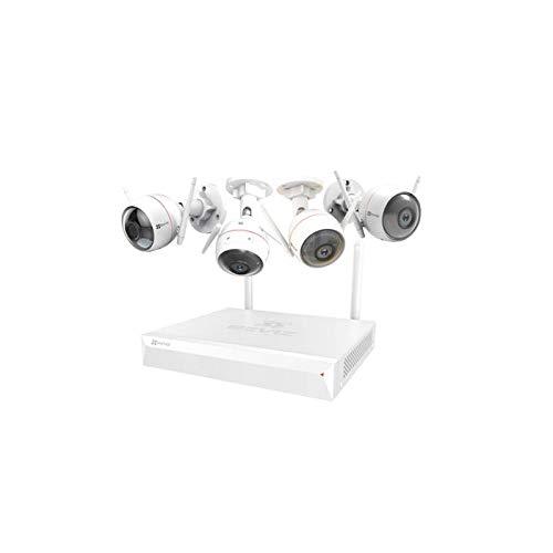 Camera EZVIZ - Kit inalámbrico (CS-BW3424B0-E40) 1NVR/4CAM*7486O