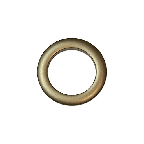 Oeillets à Clipser pour Rideaux Coloris Bronze - diamètre 55 mm - Lot de 8