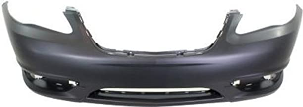 Crash Parts Plus Primed Front Bumper Cover Replacement for 2011-2014 Chrysler 200