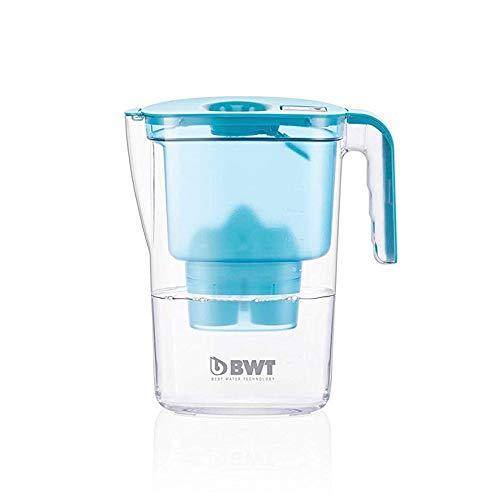 BWT - 815446 - Tischwasserfilter VIDA - 2,6 l, petrol - Wasserfilterkanne mit 1 Filter-Kartusche für Magnesium Mineralized Water