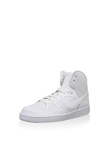 Nike Herren Son of Force Mid (Gs) Basketballschuhe, Weiß White White White, 39 EU