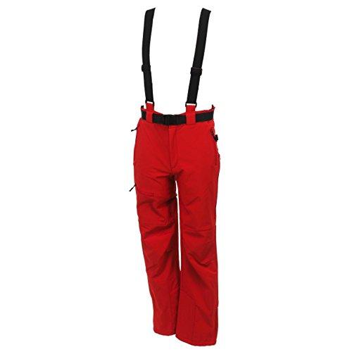 SD Best selection - Unosoft Rouge Pant - Pantalon de Ski Surf - Rouge - Taille XXL
