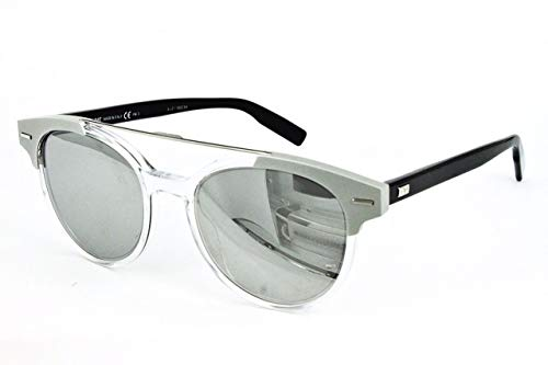 Dior Herren BLACKTIE220S SS T6E Sonnenbrille, Schwarz (Crystal Black Grey Speckled Silver), 51