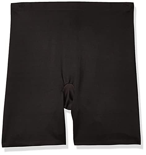 Maidenform womens Cover Your Bases Smoothing Short Dm0035 shapewear half slips, Black, XX-Large US