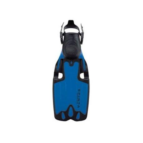 Sherwood Spinta with Optimal Pivot Blade (OPB) Scuba Diving Fins Flexible Blade Fins (Blue, Small (mens 4-7.5))