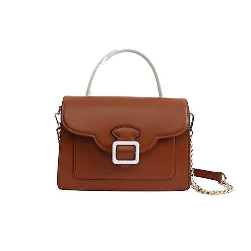 Koe lederen dames handtas, dubbele compartiment messenger tas, grote capaciteit en praktisch, geschikt voor werk winkelen, dating, reizen