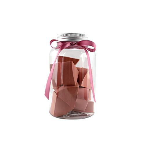 Lurrose Blender Blender éponge portable wedge Foundation Blender Fondation pad pour filles dames cadeau pour Noël 1 bouteille (rouge foncé)