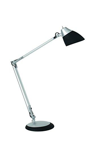 ALBC8 LEDJAZZ N Lampe LED noir, Tête en ABS, 6.5 W, Gris métal & Noir
