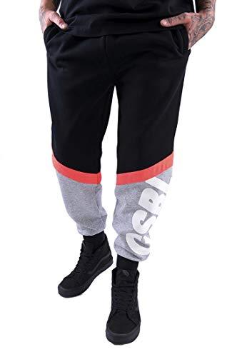 Cayler & Sons Mens CSBL CSBLSET Sweatpants Pants, Black/Lazerred, L