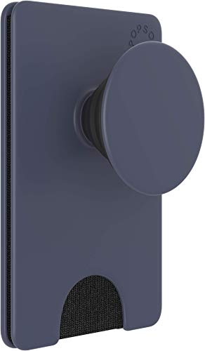 PopSockets PopWallet+ with Integrated Swappable PopTop - Shadow Blue