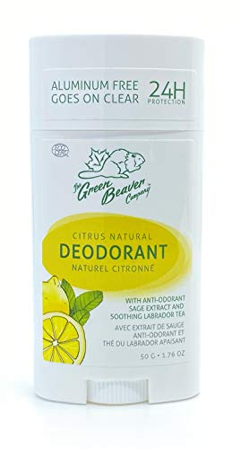 GREEN BEAVER - Citrus Natural Deodorant Stick - 1.76 oz. (50 g)
