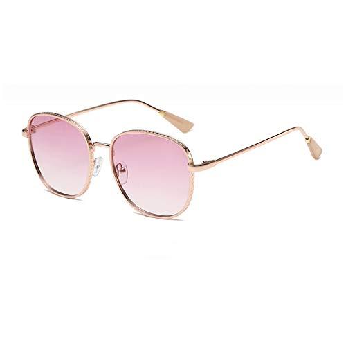SXRAI Gafas De Sol Cuadradas Mujer Gafas De Sol para Mujer Gafas De Sol Mujer Negro,C2