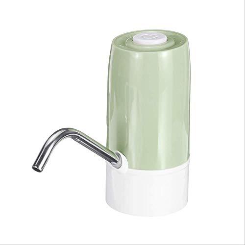 Distributeur d'eau électrique de Charge USB commutateur de bouteille d'eau portable gallon interrupteur intelligent de pompe à eau sans fil purificateurs d'eau vert clair