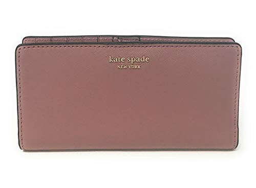 Kate Spade New York Cameron Large Slim Bifold Wallet (Dusty Peony)