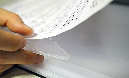 LUTANY Mappe blendfrei, Notiz ohne Entnahme möglich, Notenmappe, Hefter, Folder