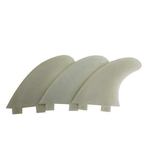 Leoie - Aletas para Tabla de Surf FCS G5 de plástico, Color Verdadero G5, Medium