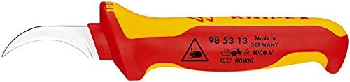 KNIPEX Cuchillo pelacables aislado 1000V (190 mm) 98 53 13