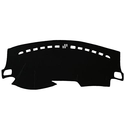 QWSNED Alfombrilla antideslizante para salpicadero, almohadilla de panel de instrumentos de poliéster para coche, almohadilla de panel de instrumentos de alto adhesivo, para Suzuki Ciaz (2014-2018)