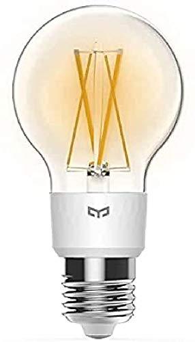 Yeelight Bombilla Inteligente, 6 W, Transparente