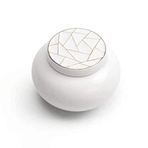Speicher-Tank-Keramik-Speicher-Gläser werden zur Lagerung von Süßigkeiten, Keks, Nüssen, Getreide, Kaffee, Gewürzen usw. verwendet. Keramikgläser können auch für die Dekoration und K-Dekoration verwen