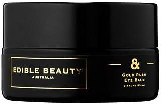 (1) EDIBLE BEAUTY Gold Rush Eye Balm 0.3oz