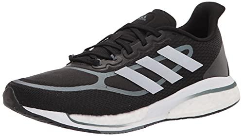 adidas Men's Supernova + M Running Shoe, Black/Silver Metallic/Blue Oxide, Numeric_6_Point_5