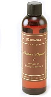 Aromatique BOURBON BERGAMOT Reed and Ceramic Diffuser Oil Refills - 4oz