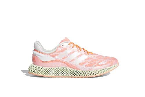 adidas 4D Run 1.0 Cloud blanco/Signal Coral FW6838 para hombre