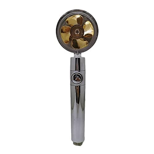 2 stuks hogedruk-douchekop roestvrij staal meerkleurige sproeier, badkamerdouche-accessoires douchekop kan 360 graden…