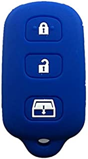 Rpkey Silicone Keyless Entry Remote Control Key Fob Cover Case protector For 1999-2009 Toyota 4Runner 2001-2008 Toyota Sequoia HYQ12BBX HYQ12BAN HYQ1512Y